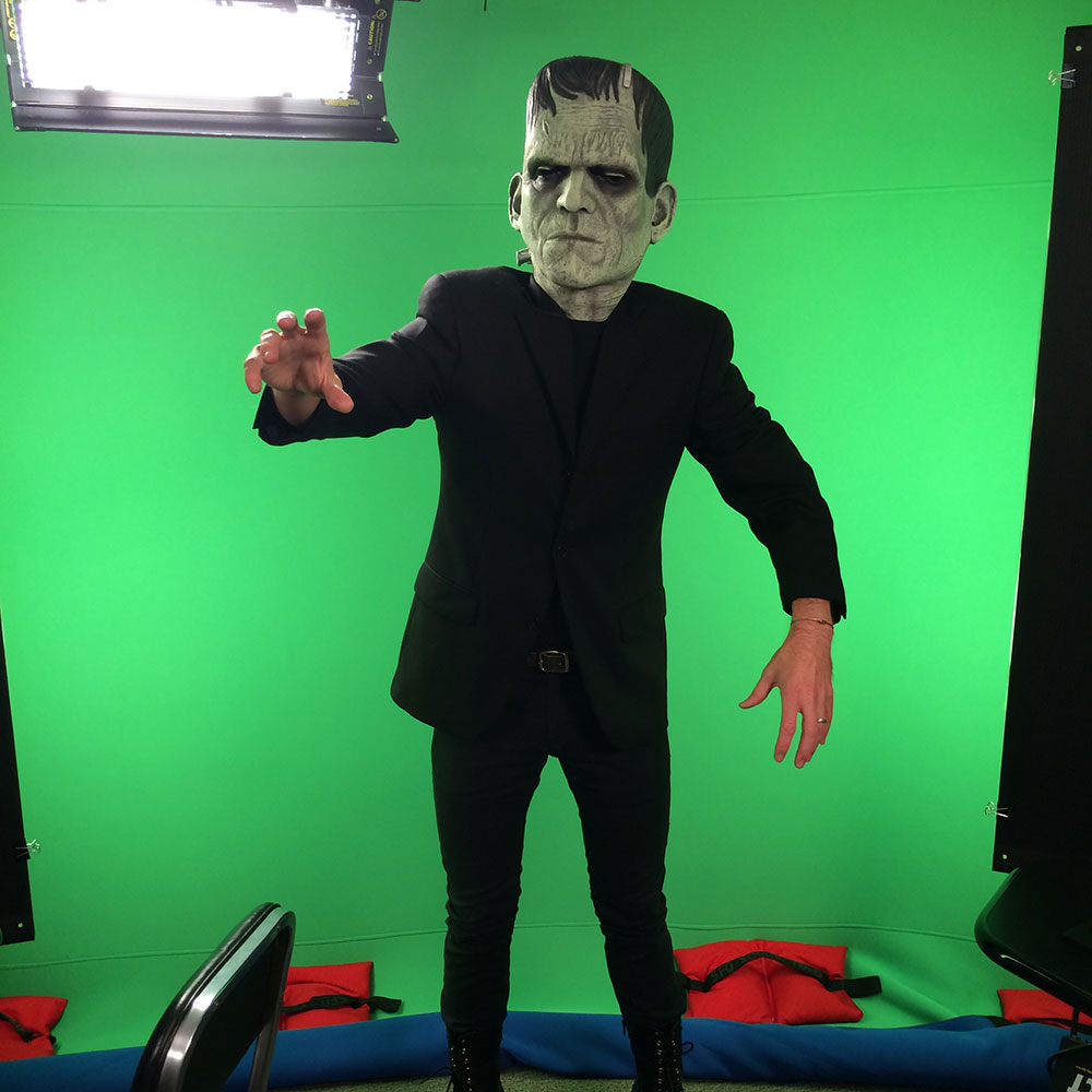 Frankenstein green screen